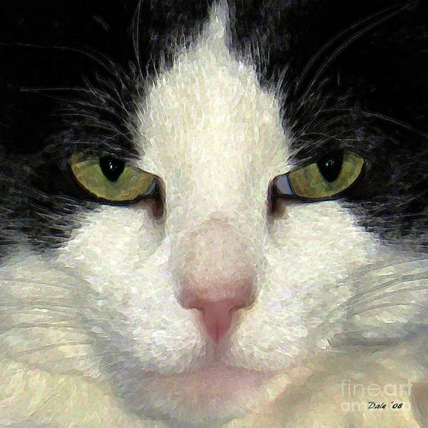 Digital Art - Not Amused by Dale   Ford