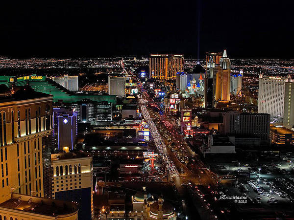 Photograph - Not Everything Stays In Vegas by Ericamaxine Price