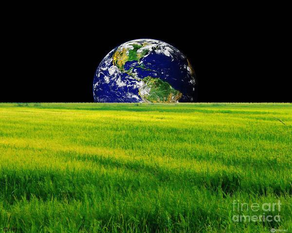 Digital Art - Not That Easy Being Green by Lizi Beard-Ward