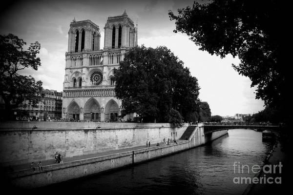 Photograph - Notre Dame Along The Seine by Carol Groenen
