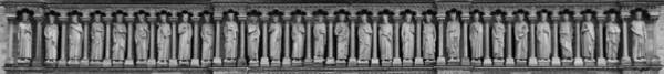 Photograph - Notre Dame Frieze 2 by Andrew Fare