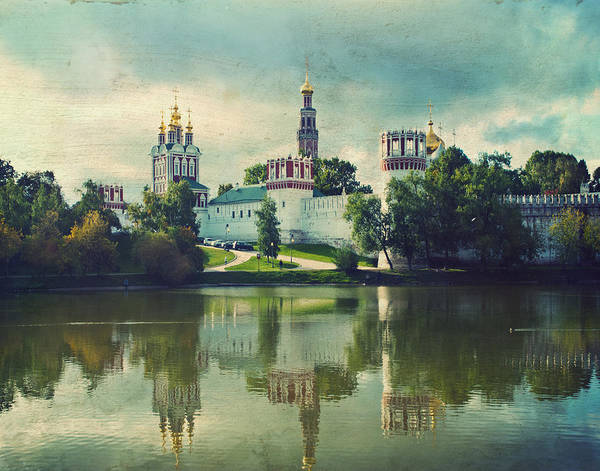 Wall Art - Photograph - Novodevichy Convent. Moscow Russia by Juli Scalzi