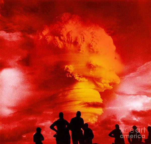 Wall Art - Photograph - Nuclear Detonation by Omikron