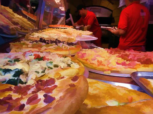Photograph - Ny Pizza by Steve Zimic