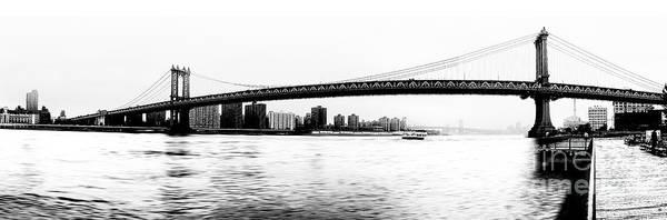 Photograph - Nyc - Manhattan Bridge by Hannes Cmarits