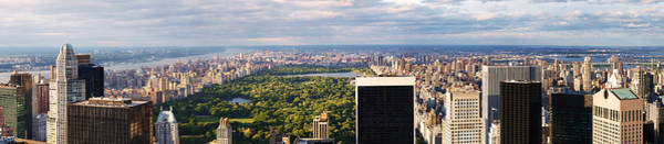Wall Art - Photograph - Nyc Central Park Panorama by Nina Papiorek
