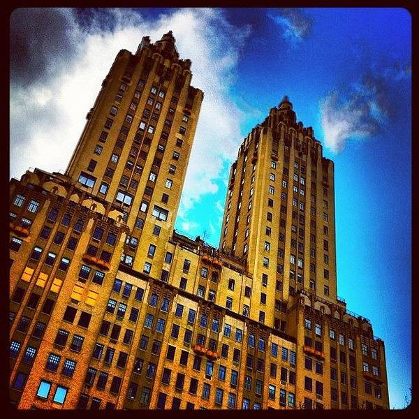 Building Wall Art - Photograph - #nyc #clouds #centralpark #sky #building by Luke Kingma