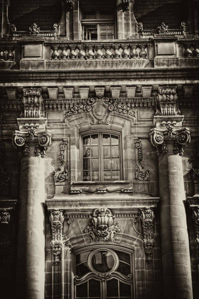 Photograph - Nyc Mansion Row Detail by Val Black Russian Tourchin