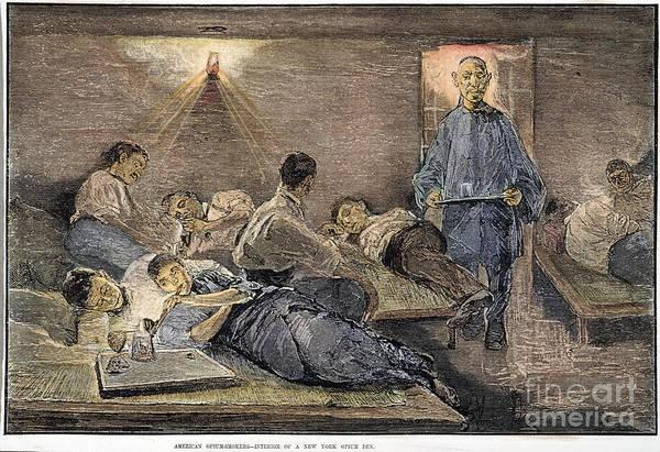 Nyc Opium Den, 1881 Art Print
