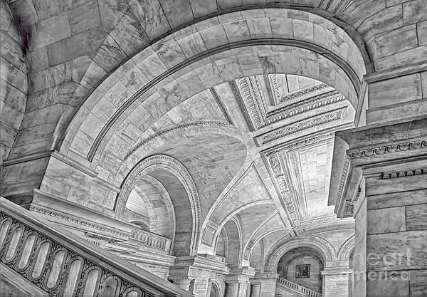 Photograph - Nyc Public Library by Susan Candelario
