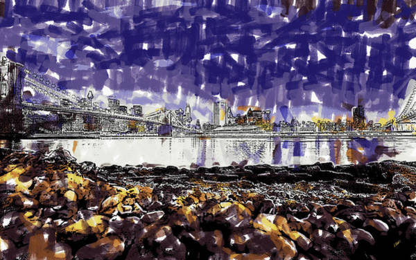 Painting - Nyc Skyline by Dean Wittle