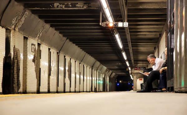Wall Art - Photograph - Nyc Subway by Valentino Visentini