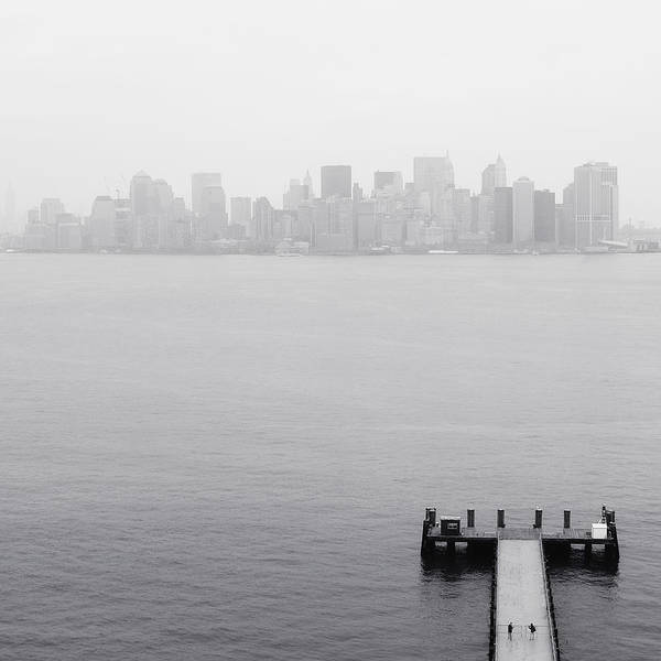 Wall Art - Photograph - Nyc View From Liberty Island by Nina Papiorek