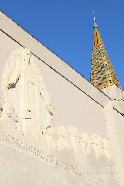 Photograph - Oakland California Temple . The Church Of Jesus Christ Of Latter-day Saints . 7d11348 by Wingsdomain Art and Photography
