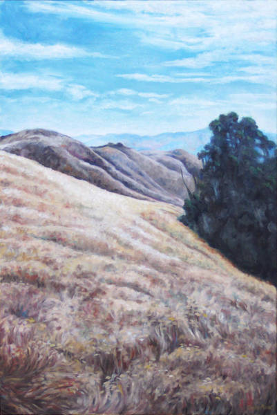 Painting - Oakland Field by Susan Moore