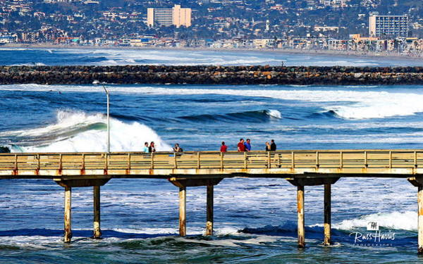 Wall Art - Photograph - Ob To Mission Beach by Russ Harris