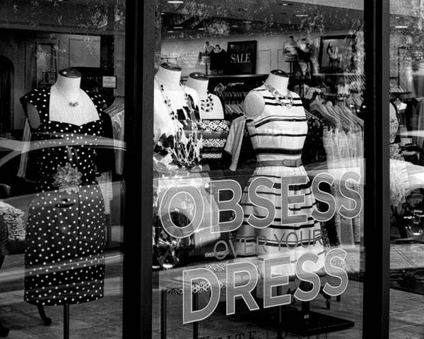 Dress Form Photograph - Obsession Palm Desert by William Dey