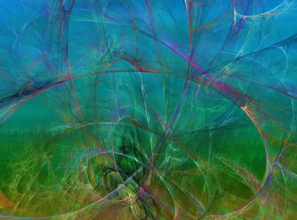 Wall Art - Digital Art - Ocean Garden by Betsy Knapp