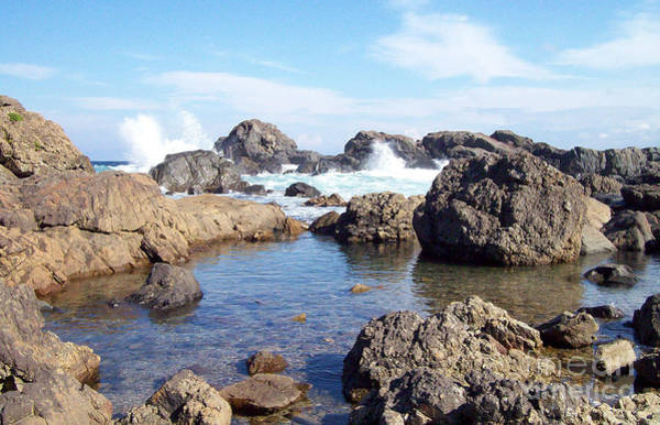 Photograph - Ocean Tide On The Rocks by Cheryl McClure