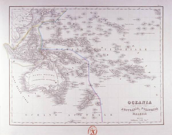 Horizontal Digital Art - Oceania (australia, Polynesia, And Malaysia) by Fototeca Storica Nazionale