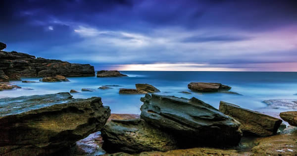 Photograph - Oceans' Blues by Mark Lucey