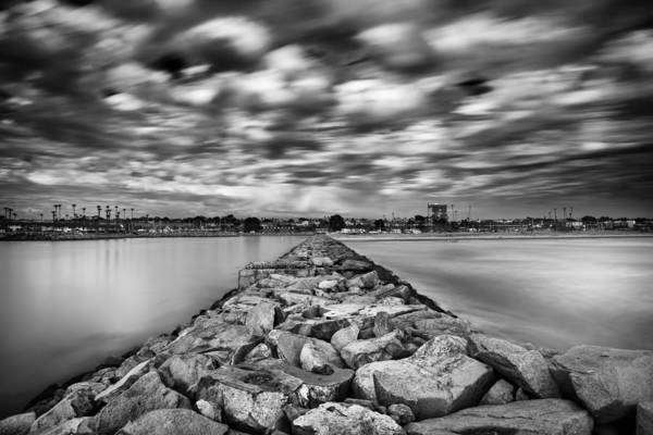 Wall Art - Photograph - Oceanside Harbor Jetty 3 by Larry Marshall