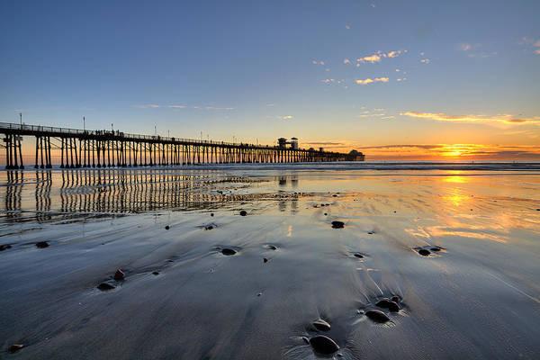 High Dynamic Range Photograph - Oceanside Pier by Peter Tellone