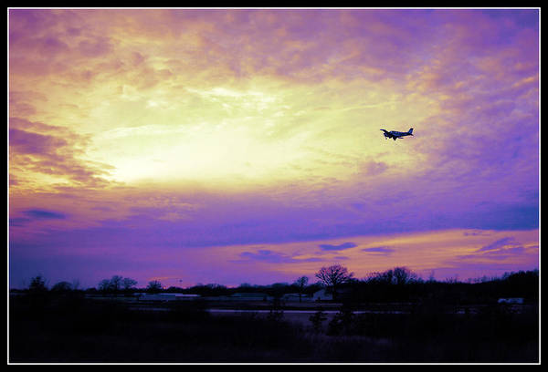 Photograph - Off We Go Into The Wild Blue Yonder by Lora Mercado