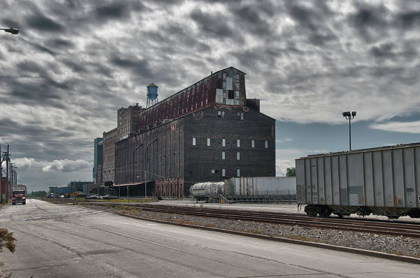 Photograph - Ohio Street Mill by Guy Whiteley