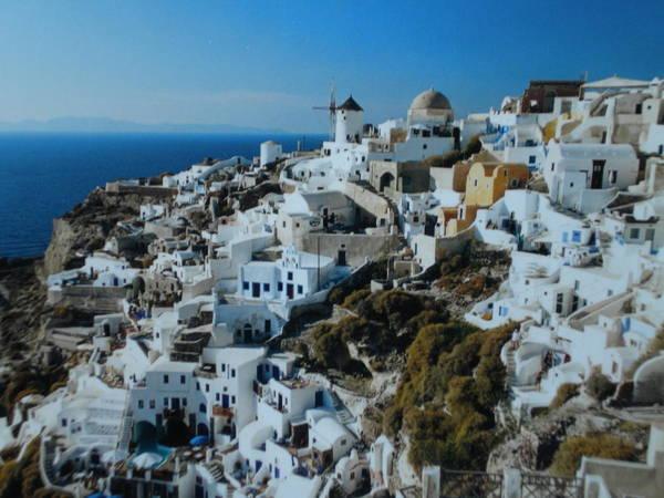 Photograph - Oia Santorini Greece by Colette V Hera  Guggenheim