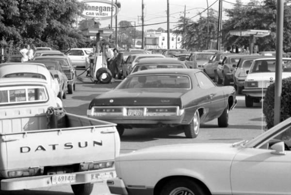 Energy Crisis Photograph - Oil Crisis, 1979 by Granger