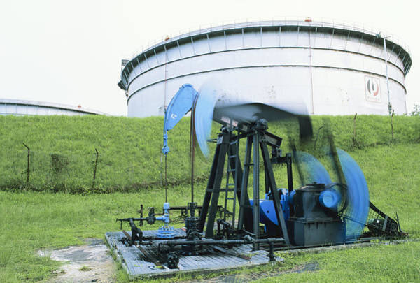 Wall Art - Photograph - Oil Pump by David Nunuk