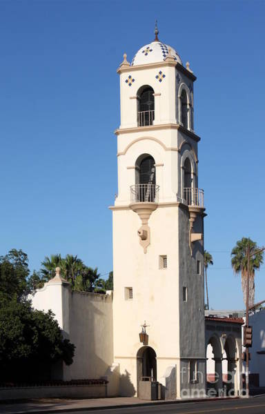 Ojai Post Office Tower Art Print