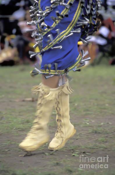 Powwow Wall Art - Photograph - Ojibway Dancer In Jingle Dress by Gordon Wood