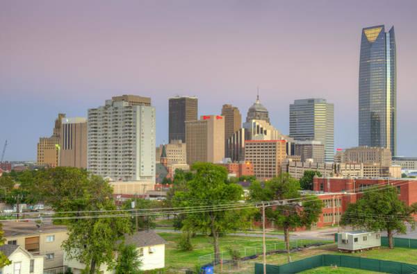 Okc Photograph - Oklahoma City Dusk by Ricky Barnard
