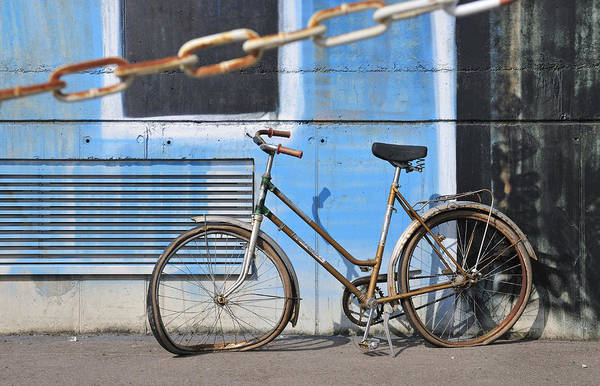 Photograph - Old And Broken Bicycle Left Alone by Matthias Hauser