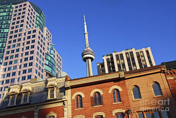 Wall Art - Photograph - Old And New Toronto by Elena Elisseeva