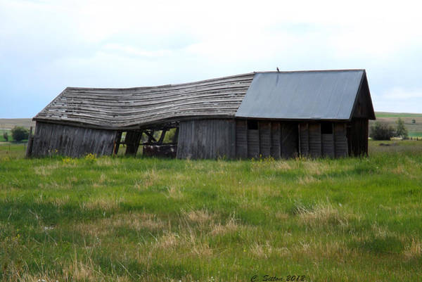 Photograph - Old Barn by C Sitton