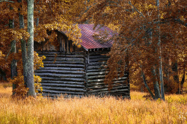 Wall Art - Photograph - Old Barn In The Woods by Steve Hurt