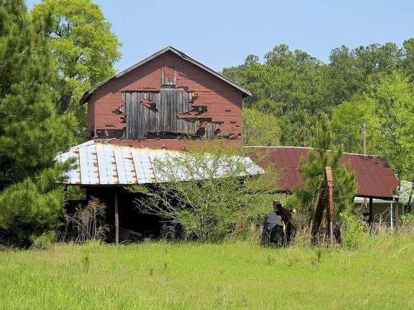 Photograph - Old Barn by Ralph Jones