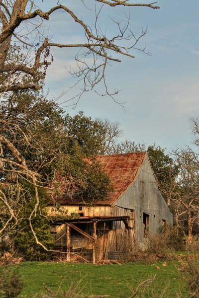 Photograph - Old Barn by Sarah Broadmeadow-Thomas