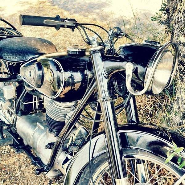 Bmw Photograph - Old Bmw Bike 🏁 #bmw #bike #motorbike by Richard Randall