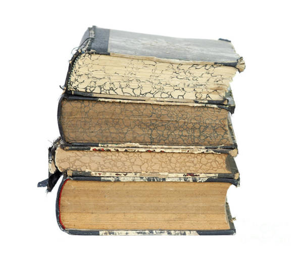 Old Wall Art - Photograph - Old Books by Michal Boubin