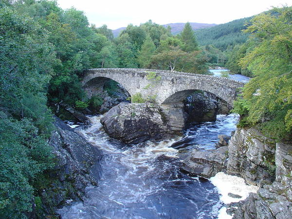 Photograph - Old Bridge At Invermoriston by Charles and Melisa Morrison