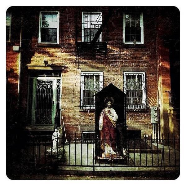 Jesus Photograph - Old Brooklyn by Natasha Marco