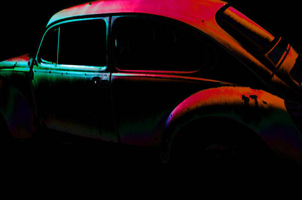 Wall Art - Photograph - Old Bug Pink by Affini Woodley