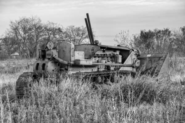 Bulldozer Photograph - Old Cat Iv by Ricky Barnard