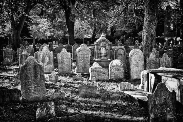 Photograph - Old Cemetery In Philadelphia 3 by Val Black Russian Tourchin