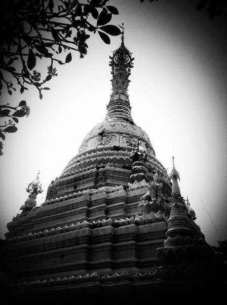 Chiang Mai Province Photograph - Old Chedi, Chiang Mai by Robsteerphotopgraphy