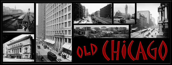 Photograph - Old Chicago by Andrew Fare